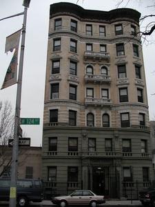 Apartment Building Facing Marcus Garvey Park