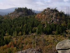 View From Leistenklippe To The Brocken