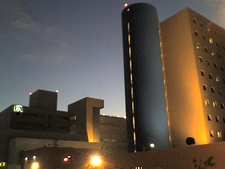 Hospital Angeles Tijuana At Night