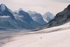 Otemma Glacier On The Haute Route