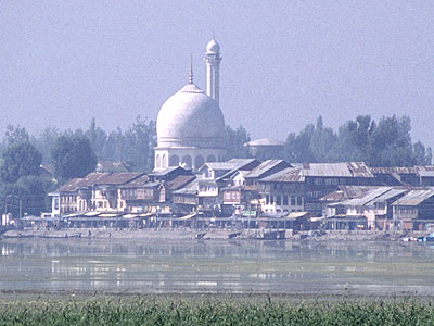 Hazratbal Shrine In Srinagar