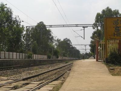 Hebbal Railway Station
