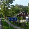 Road Sign To Helgö