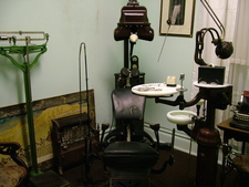 Headwaters Heritage Museum Dentist Equipment