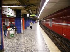 Reeperbahn Railway Station