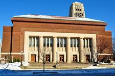 Hill Auditorium Winter