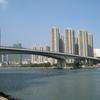 Tsing Yi Bridge Over Rambler Channel