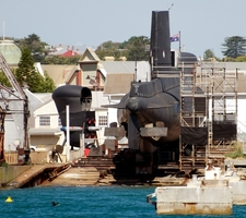 View Of Ovens In Dry-Dock
