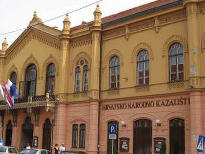 Croatian National Theatre In Osijek