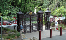Entrance To The Royal Tasmanian Botanical Gardens