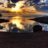 Honeymoon Bay In Sunset