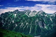 Mount Hotaka From Mount Chō