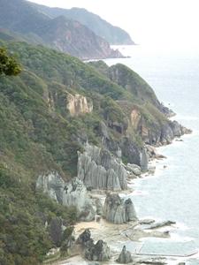 Hotokegaura Rocks