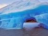 Iceberg From Glacier Gray In Patagonia
