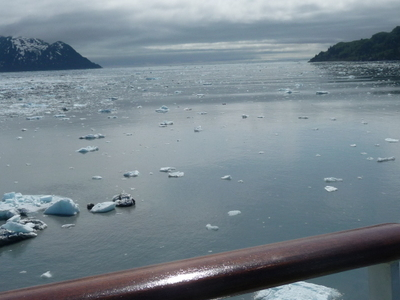 Icebergs In Yakutat Bay