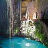Ik-Kil Cenote - Inside View