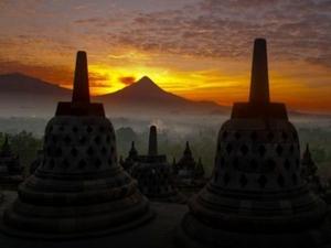 Borobudur Sunrise, Merapi Jeep Adventure, Prambanan Temple