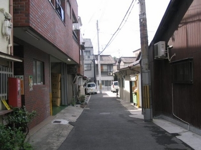 A Typical Residential Area Of Ikuno-ku