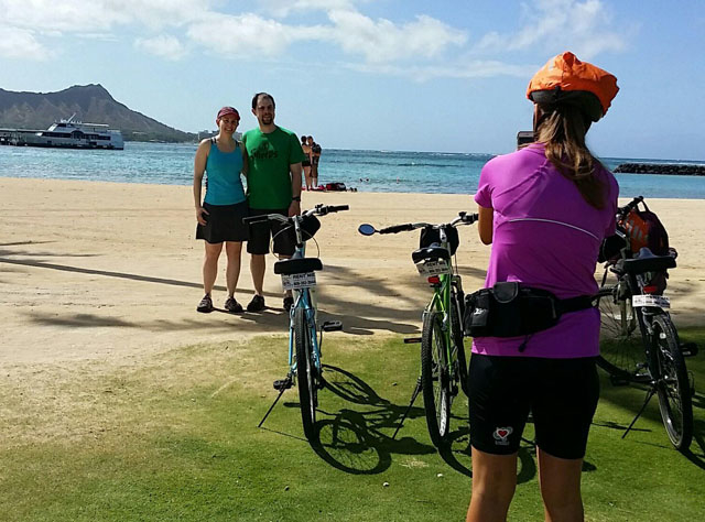 Bike & Hike Diamond Head Tour Photos