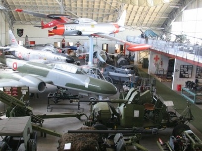 Exhibition In Hangar