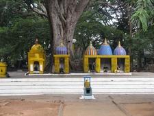 Cubbon Park Temple Close Up - Bangalore