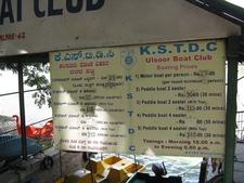 KSTD Boat Club Signboard At Pier