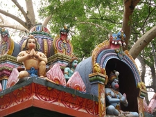 Bugle Rock Park - Hanuman Temple Top View - Bangalore