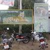 Tadoba National Park Sign Board