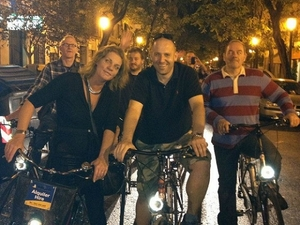 Valencia Bike Night Tour Photos