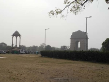 India Gate Parking Lot