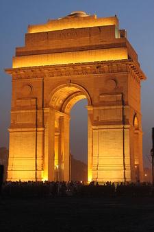 India Gate Illuminated