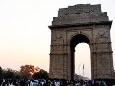 India Gate Sunday Evening
