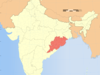India  Orissa Locator Map