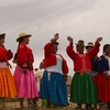 Indigenous Local Residents - Uros Lake Titicaca - Puno City Peru