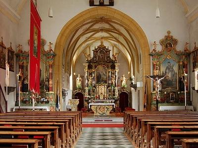 Inside Hl Vitus PfarrkircheSt-Veit Im Defereggental Austria