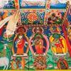 Inside Monastery Along Manaslu Circuit Trek - Nepal Himalayas