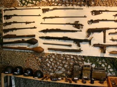 Inside Mores Battle Museum