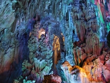 Inside Reed Flute Cave Guilin