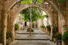Inside Saint John Monastery - Crete - Greece