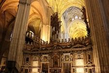 Inside Seville Cathedral