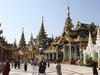 Inside Shwedagon Pagoda - Myanmar