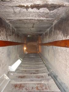 Inside Snofru Red Pyramid