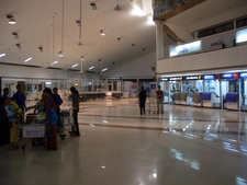 Inside View Of LGB Airport