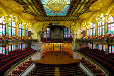 Interior Of Palau De La Música Catalana