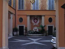 Interior Of Palazzo Di Malta