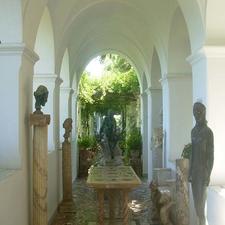 Interior Of Villa San Michele