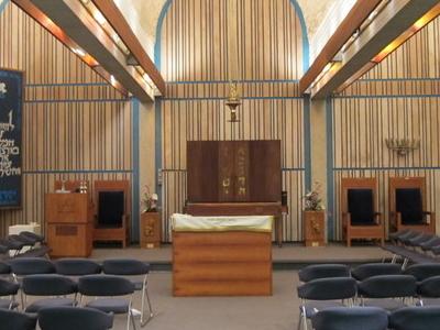 Interior Of Aloha Jewish Chapel