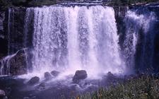 Iris Falls - Yellowstone - USA