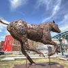 Iron Horse Sculpture At Cheyenne WY