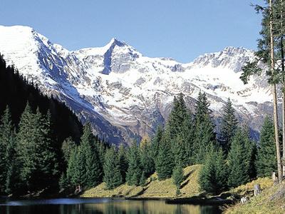 Ischgl Panorama, Tyrol, Austria